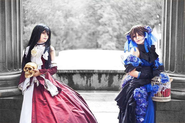 Pandora hearts: Alice and Lacie by Alvi