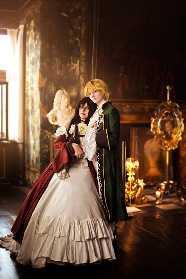Pandora Hearts: Lacie Baskerville and Jack by Alvi