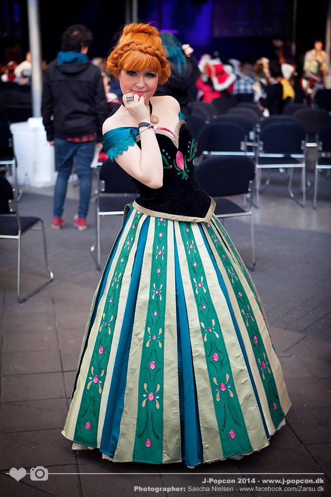 Frozen: Princess Anna by Alvi