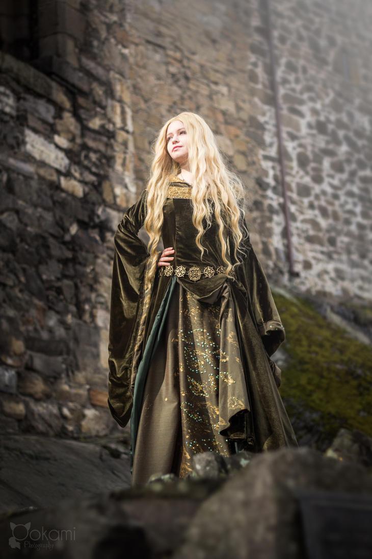 Eowyn, shieldmaiden of Rohan by Alvi