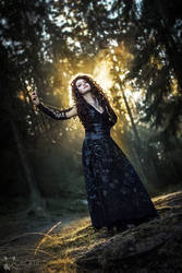 Harry Potter: Bellatrix cosplay by Alvi