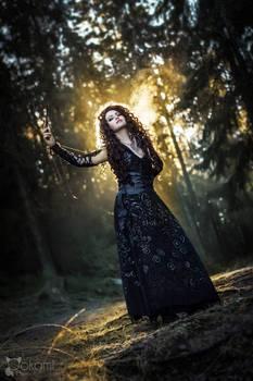 Harry Potter: Bellatrix cosplay