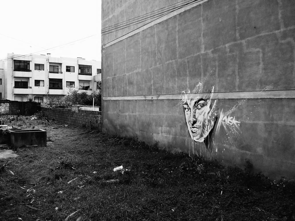 Eyes on the wall. by feese