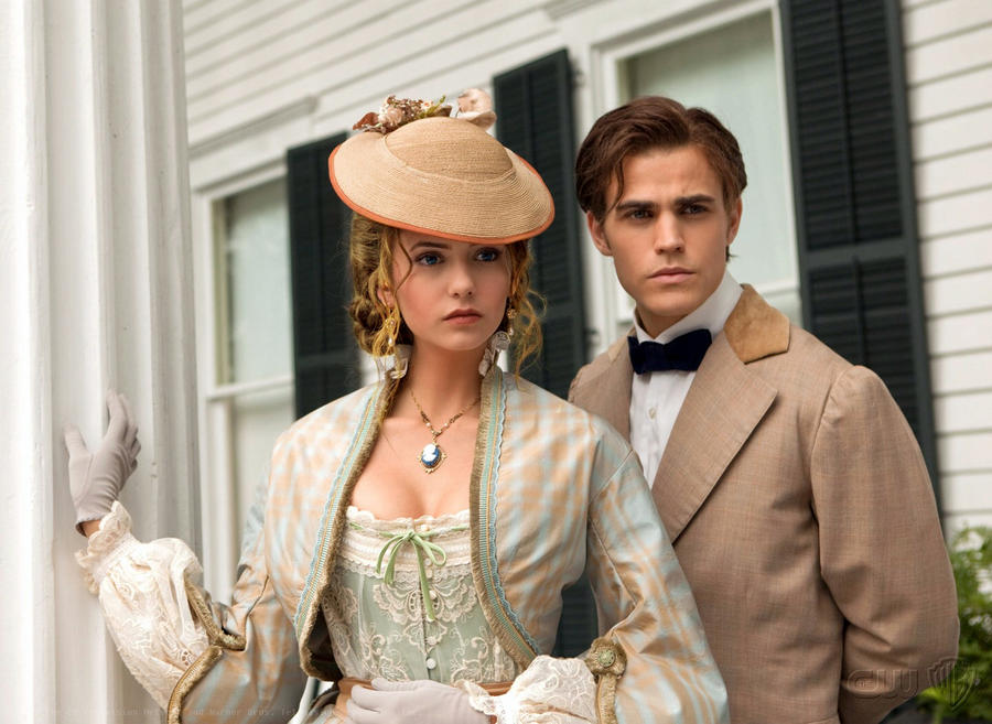 1864 Katherine and Stefan by angiezinha on DeviantArt