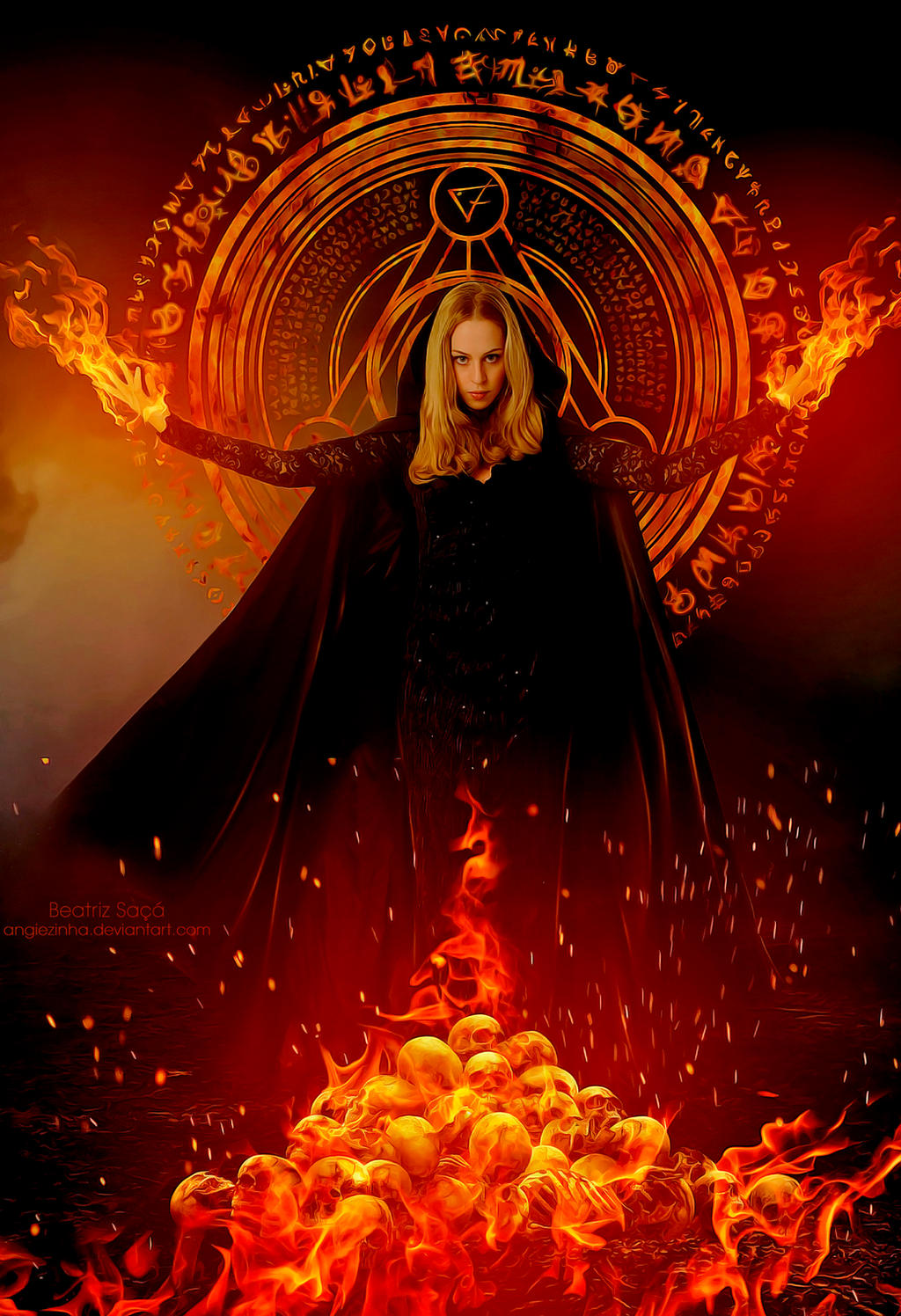 Fire Queen by angiezinha
