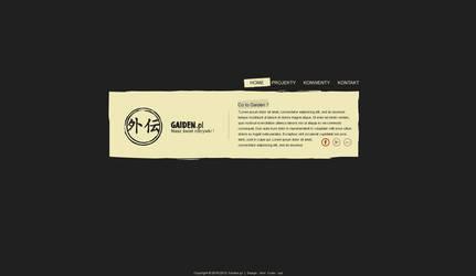 WebDesign for Gaiden.pl