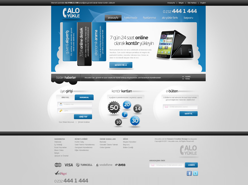 Lefon Company Web Interface Design by mansonloverz on DeviantArt