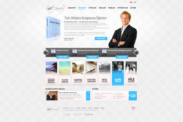 Author Personel Web Page Design by mansonloverz