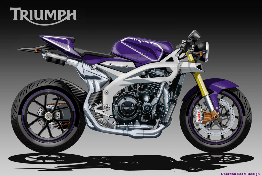 Impresionantes Dibujos De Motos Locura Total Taringa