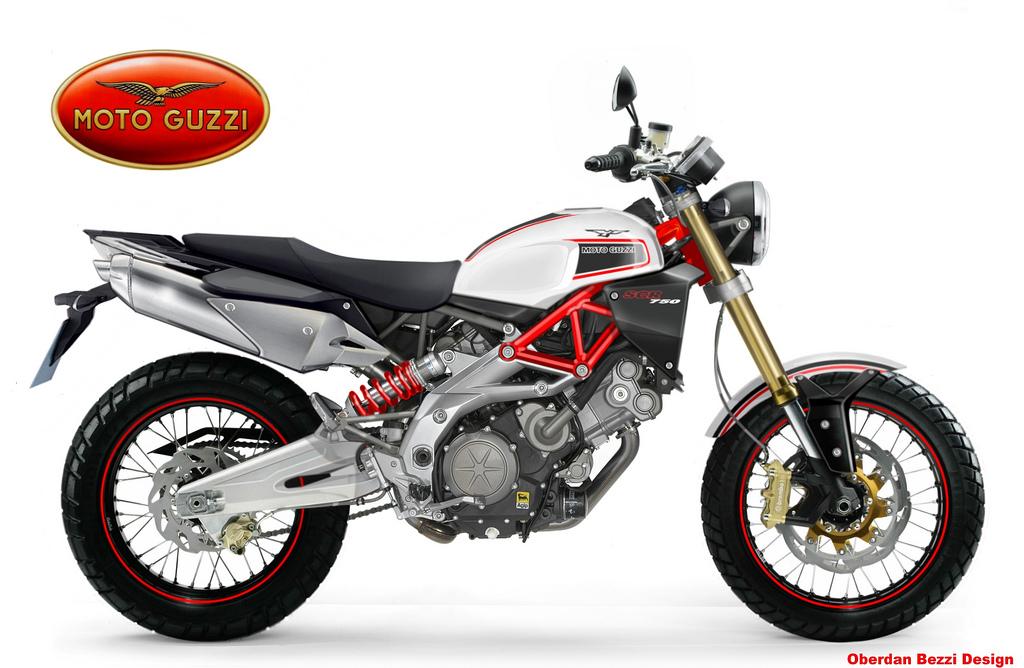 moto guzzi scr 750 by obiboi on deviantart