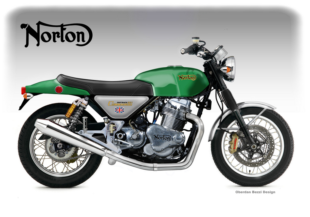 NORTON COMMANDO 961 FASTBACK CONCEPT By Obiboi On DeviantArt