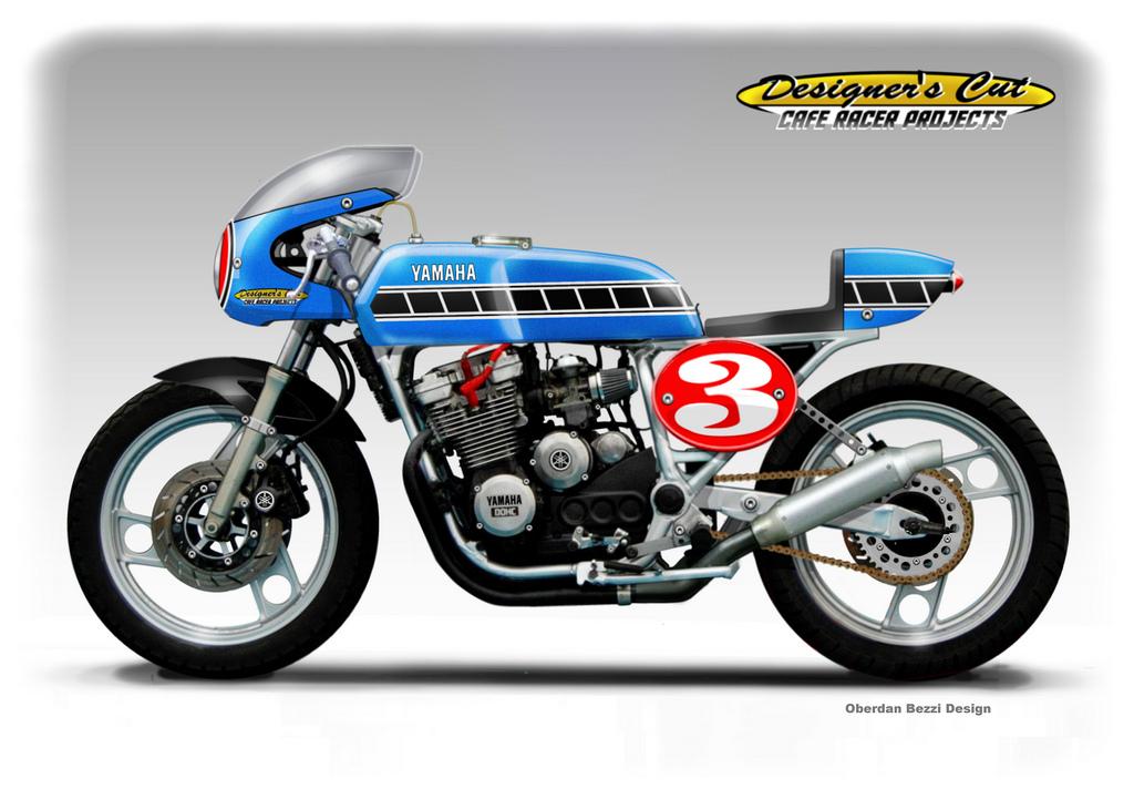 Yamaha Fj  Cafe Racer