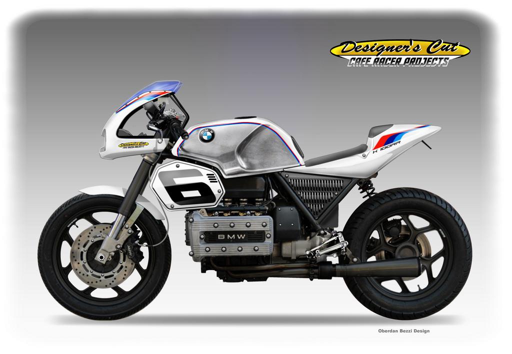 Bmw K 100 Rr Cafe Racer By Obiboi On Deviantart