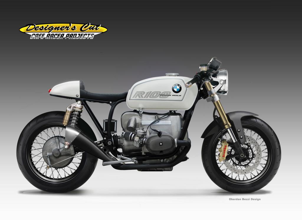BMW R 100 VENOM MILK by obiboi