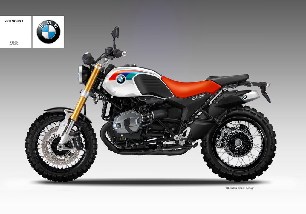 BMW R 1200 GARMISH by obiboi