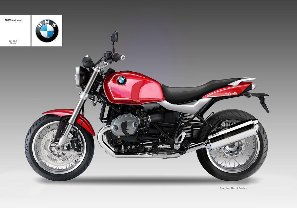 BMW R 1200 MYSTIC by obiboi