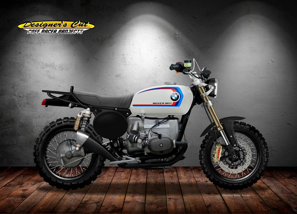 BMW R 100 BOXER BOY by obiboi