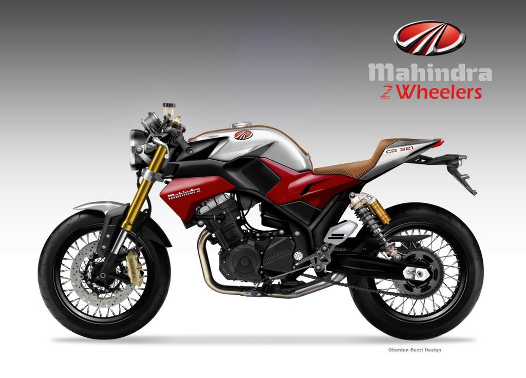 MAHINDRA CR 321 Concept Bike by obiboi
