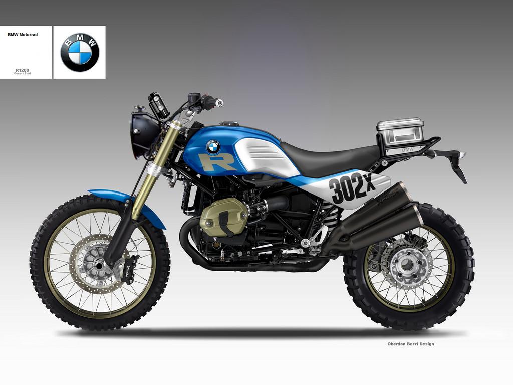 BMW R 1200 DESERT SLED R by obiboi