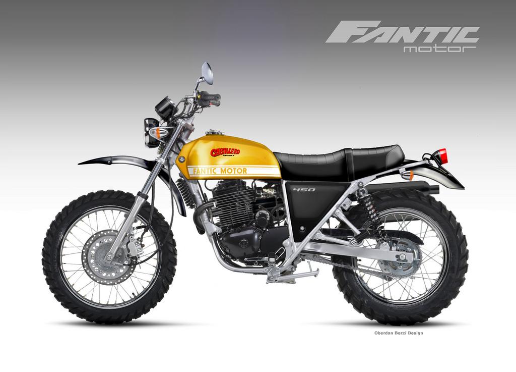 FANTIC MOTOR CABALLERO SPIRIT 450 by obiboi