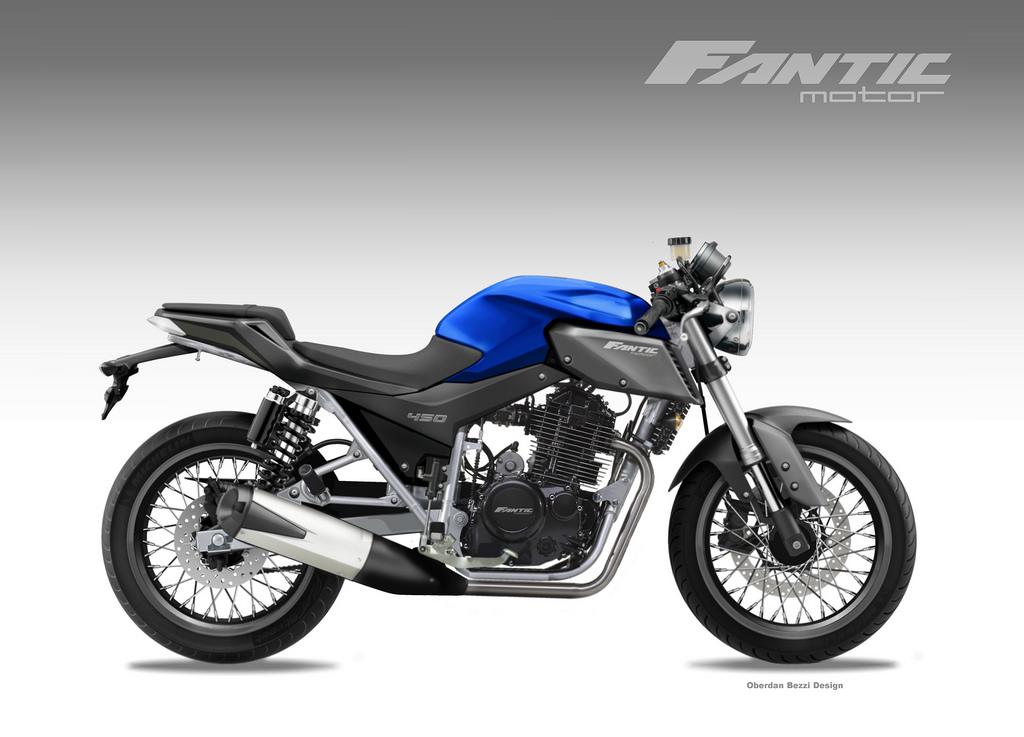 FANTIC MOTOR CAFFIGHTER 450 by obiboi