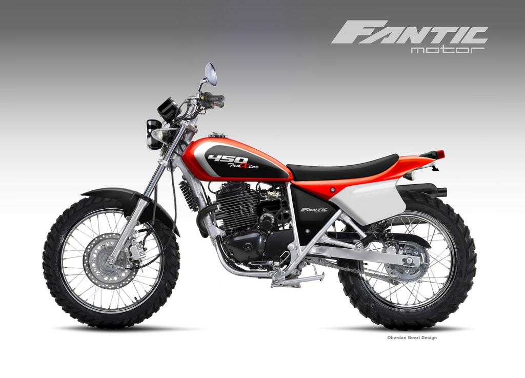 FANTIC MOTOR TRAXTER 450 by obiboi