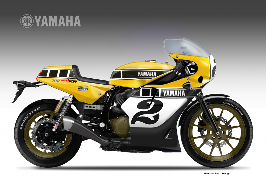 yamaha xv 950 kr yard built by obiboi on deviantart. Black Bedroom Furniture Sets. Home Design Ideas