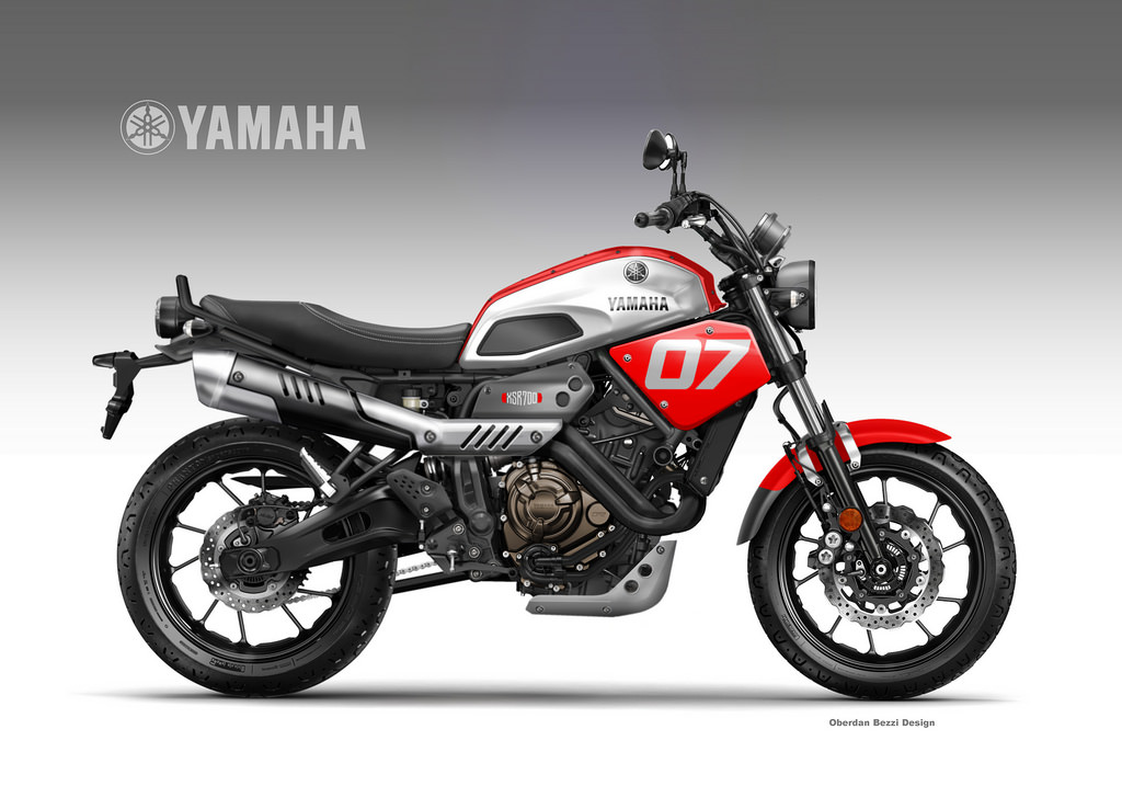 YAMAHA XSR 700  COOLEST BROTHER by obiboi