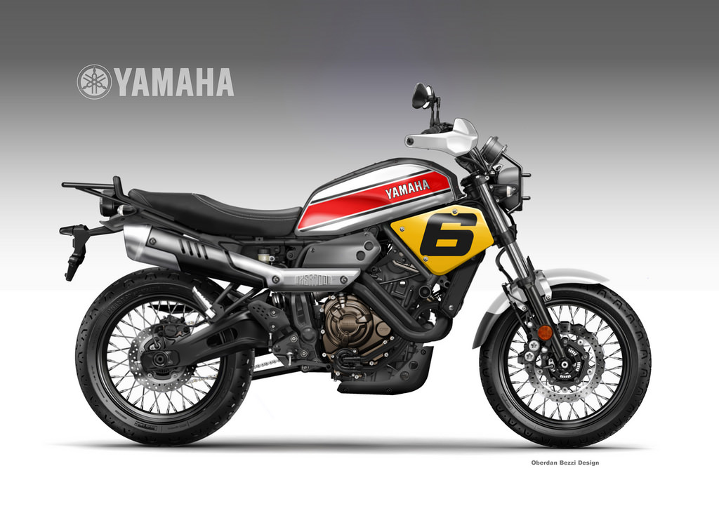 yamaha xsr 700 coolest brother croxity by obiboi on deviantart. Black Bedroom Furniture Sets. Home Design Ideas