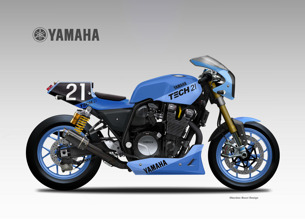 YAMAHA XJR 1300 YARD BUILT  TECH 21 by obiboi
