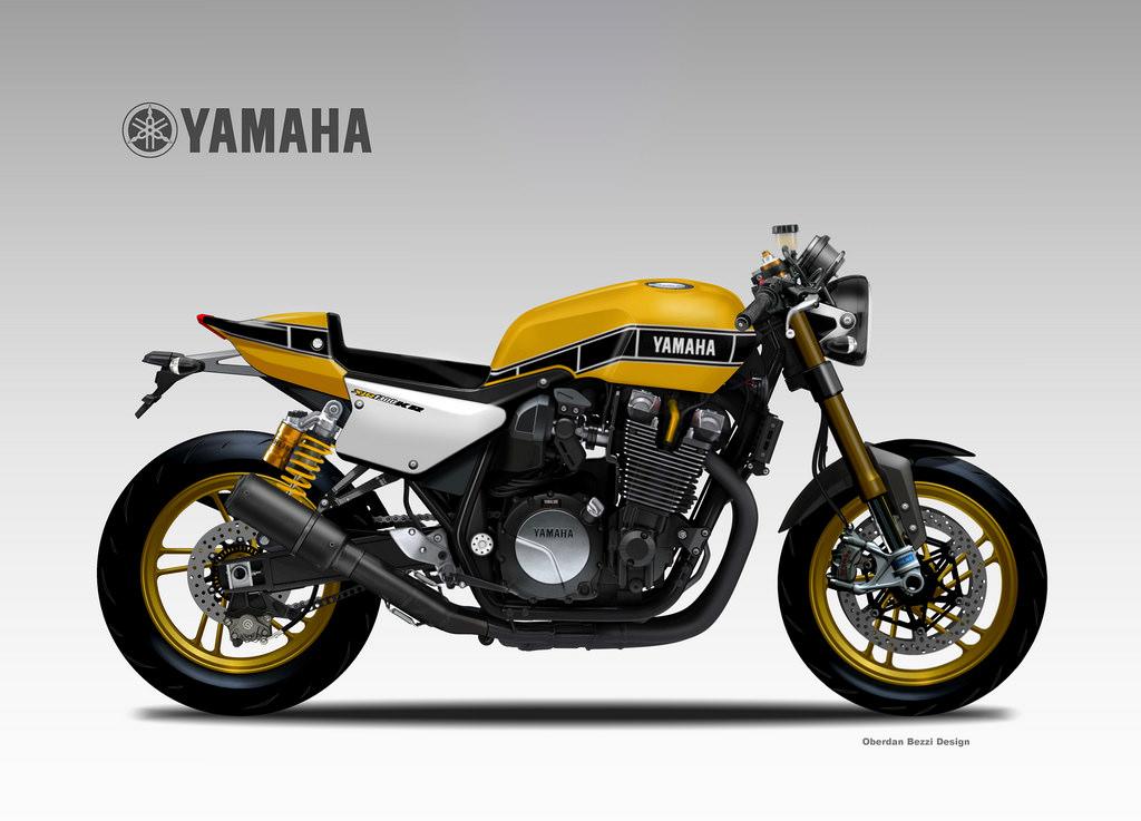 YAMAHA XJR YARD BUILT  KR by obiboi