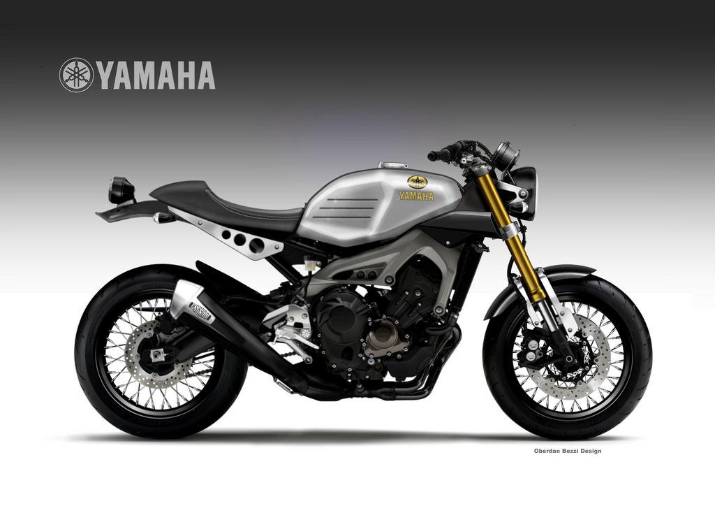 YAMAHA XSR 900 FASTER SON By Obiboi
