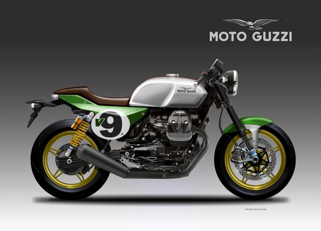 MOTO GUZZI V9 ITALIAN RACER by obiboi