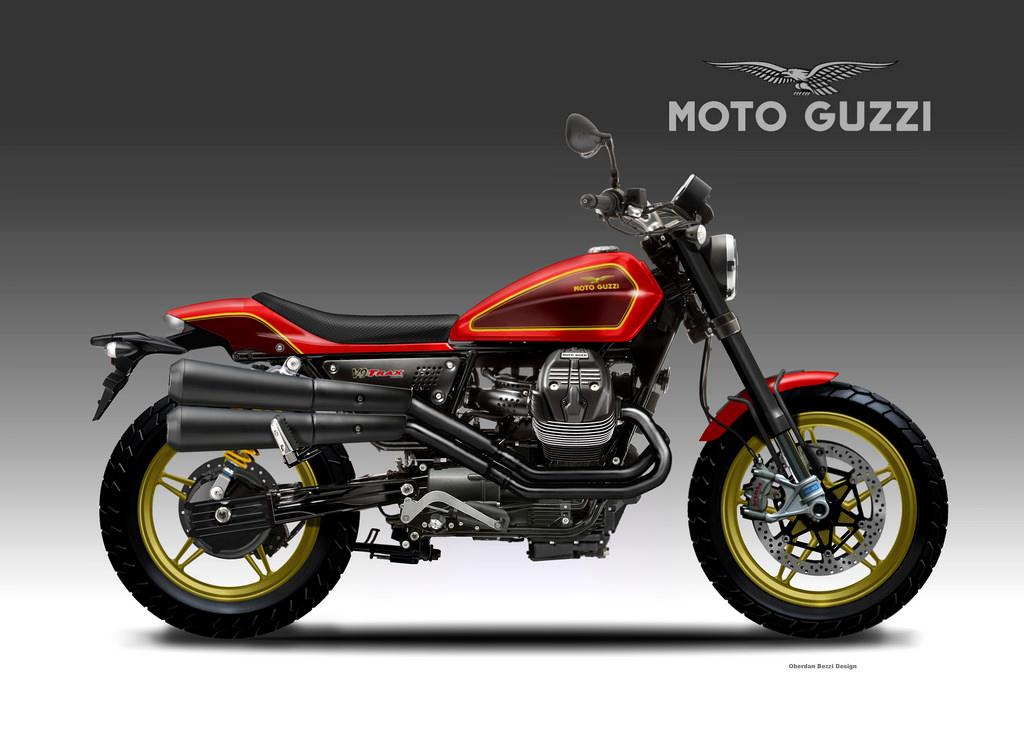 MOTO GUZZI V9 TRAX by obiboi