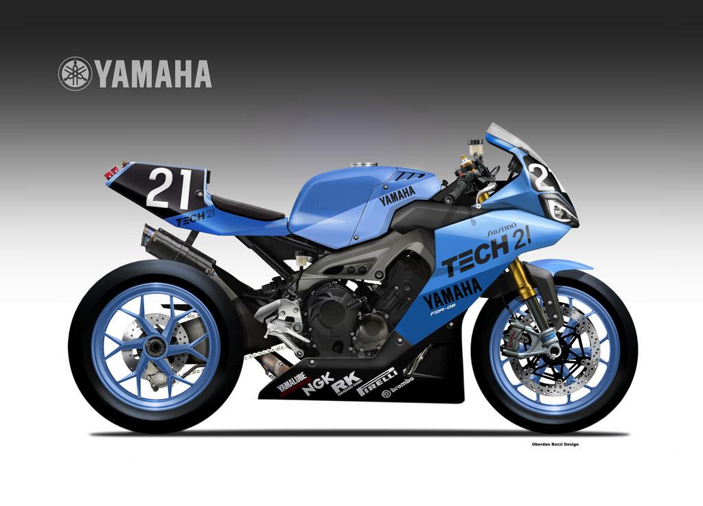 YAMAHA FZR-09 ENDURANCE by obiboi