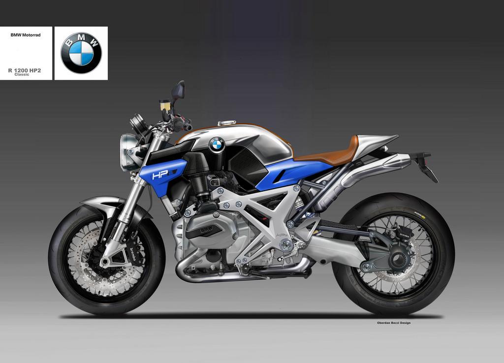 BMW R 1200 HP2 CLASSIC by obiboi