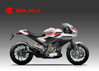 BAJAJ DOMINAR 400 RR by obiboi