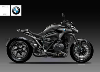 BMW R 1250 C BLACKSHINE by obiboi