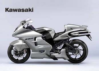 KAWASAKI ZZR 1600 UNLIMITED by obiboi