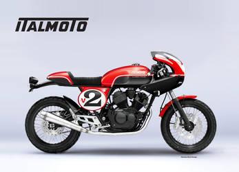ITALMOTO 250 V2 CLASSIC RACER by obiboi