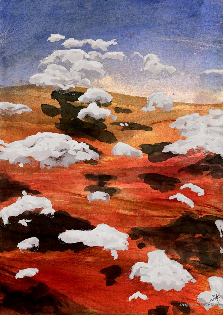 Arkaroola Cloudscape by Dreagthe