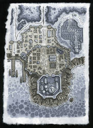 Dungeons and Dragons Map by firstedition