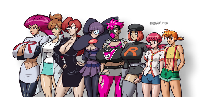 Pokemon Ladies