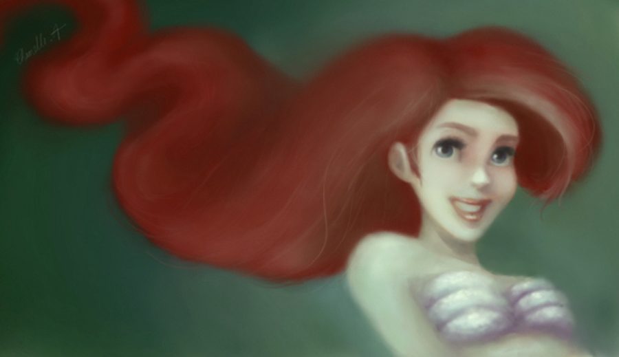 Little Mermaid by Cattkins