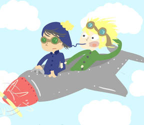 i'm a little airplane
