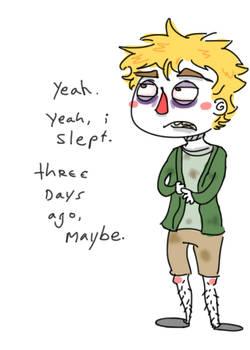 did you sleep, mr. tweak