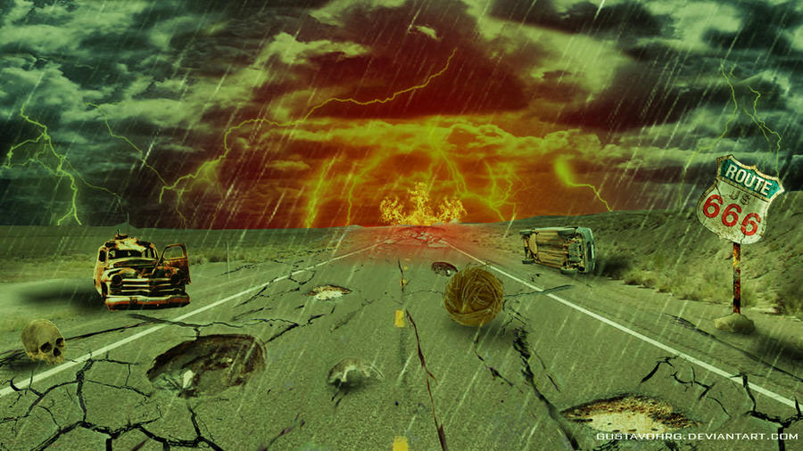 Route 666 - Highway to Hell by GustavoHRG on DeviantArt