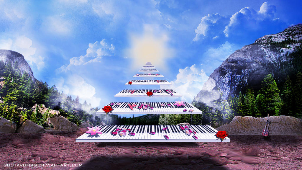 stairway to heaven background - photo #16