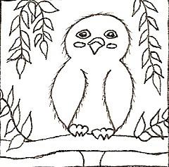 Chipi bird line art by chipi-bird