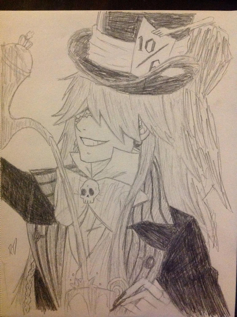 Mad Hatter Undertaker by gothyghosty